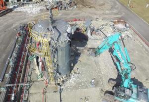 某LPガス製造所撤去工事