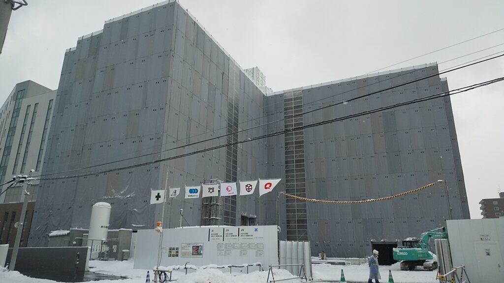 独立行政法人国立病院機構 北海道がんセンター全面建替整備工事(建築)Ⅲ期