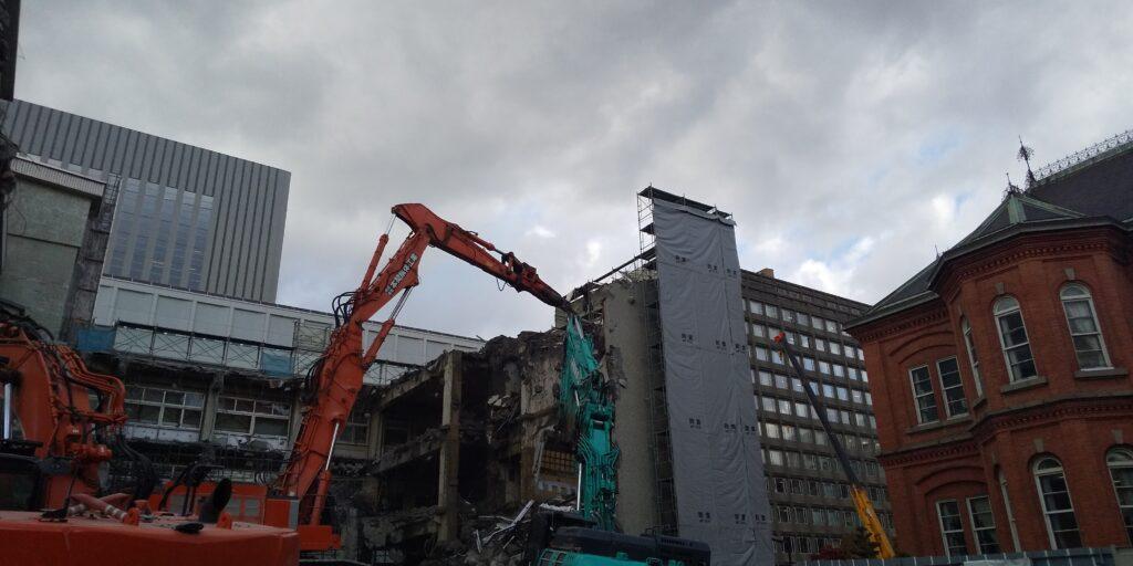 北海道議会庁舎解体工事(2工区)