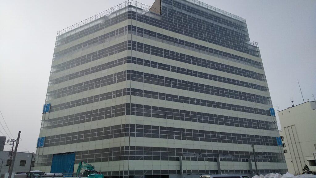 ドーコン本社ビル解体工事