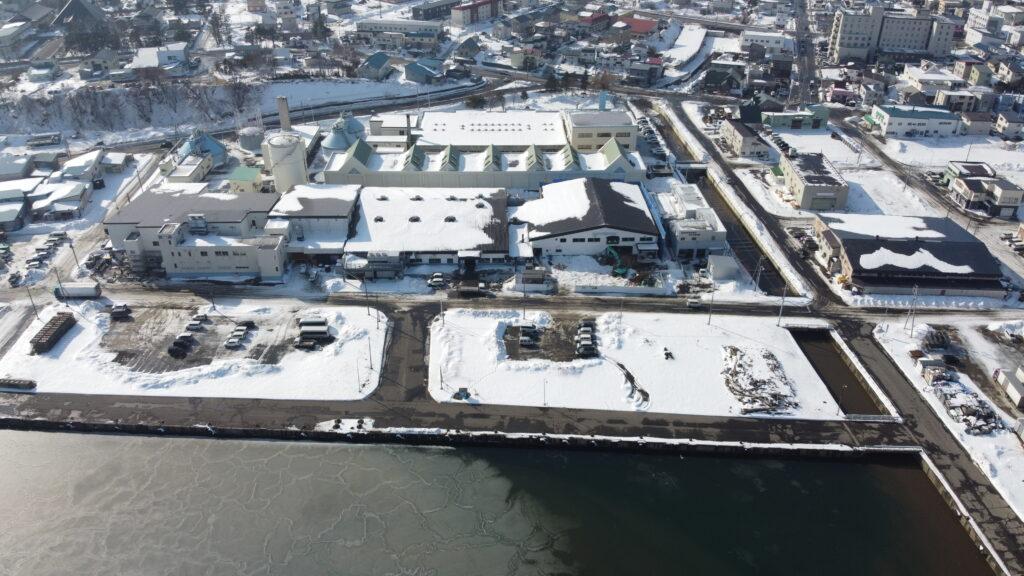 紋別漁業協同組合旧製氷貯氷施設解体工事