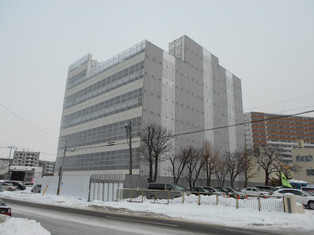 ベルクラシック札幌フローラ解体工事