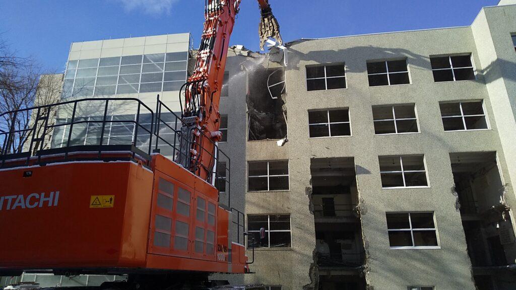 北海道議会庁舎解体工事(1工区)