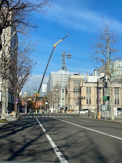 北海道放送株式会社 現本社社屋解体工事
