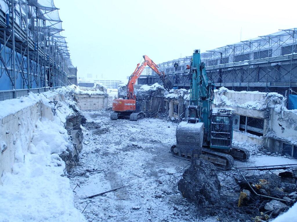 札幌中央病院改築工事