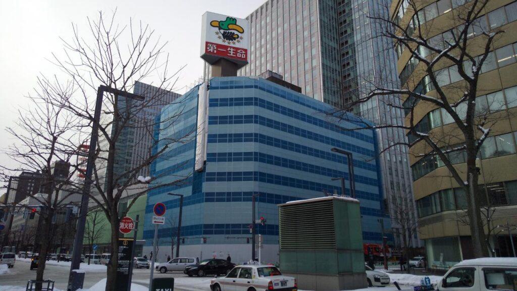 札幌第一生命ビルディング解体工事