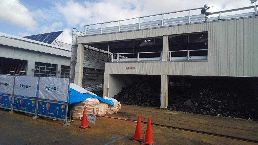 札幌分室立体駐車場解体工事
